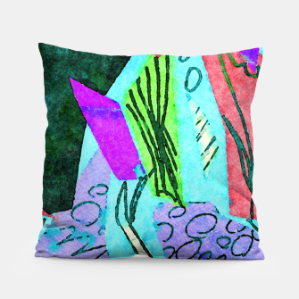 Thumbnail image of Coral Reefs Pillow, Live Heroes