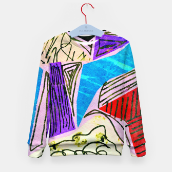 Thumbnail image of Noisy Clouds Kid's sweater, Live Heroes