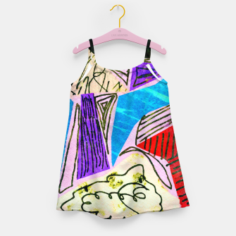 Thumbnail image of Noisy Clouds Girl's dress, Live Heroes