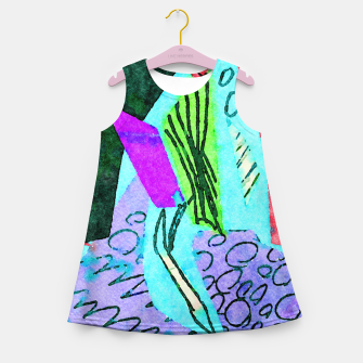 Thumbnail image of Coral Reefs Girl's summer dress, Live Heroes