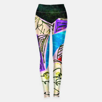 Thumbnail image of Noisy Clouds Leggings, Live Heroes