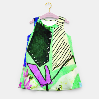 Thumbnail image of Growth Girl's summer dress, Live Heroes