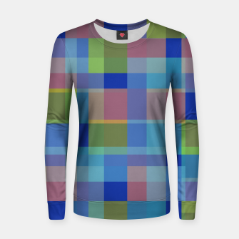Thumbnail image of zappwaits colorful Women sweater, Live Heroes