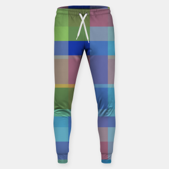 Thumbnail image of zappwaits colorful Sweatpants, Live Heroes