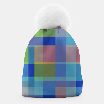 Thumbnail image of zappwaits colorful Beanie, Live Heroes