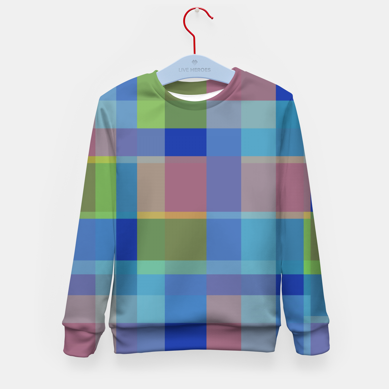 Image of zappwaits colorful Kid's sweater - Live Heroes