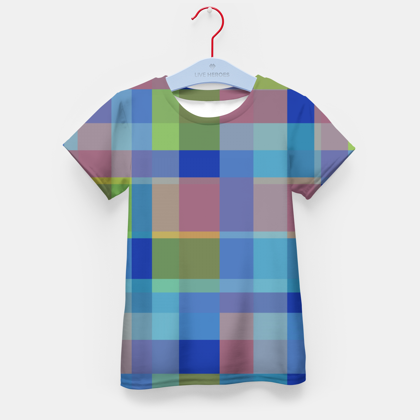 Image of zappwaits colorful Kid's t-shirt - Live Heroes