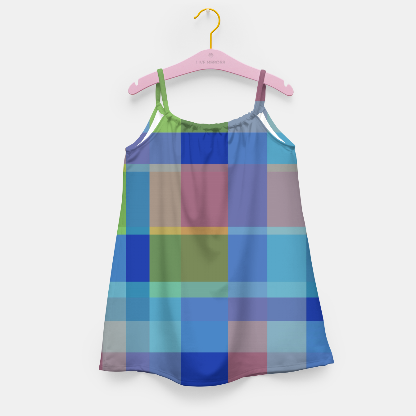 Image of zappwaits colorful Girl's dress - Live Heroes