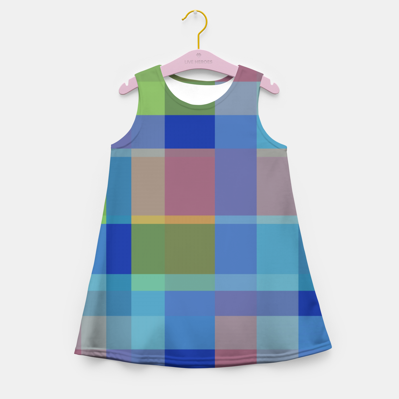 Image of zappwaits colorful Girl's summer dress - Live Heroes