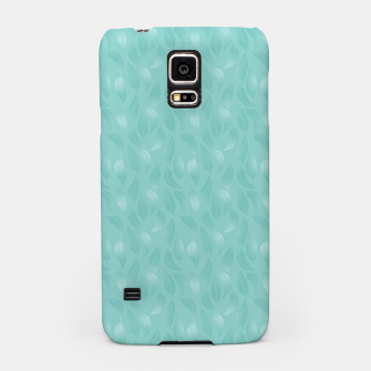 Thumbnail image of Bleached Coral Aqua Leaves  Samsung Case, Live Heroes