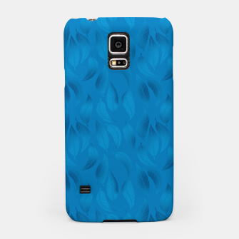 Thumbnail image of Shades of Light Blue Leaves Samsung Case, Live Heroes