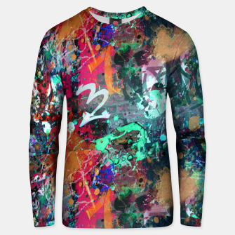 Miniatur Graffiti and Paint Splatter  Unisex sweater, Live Heroes