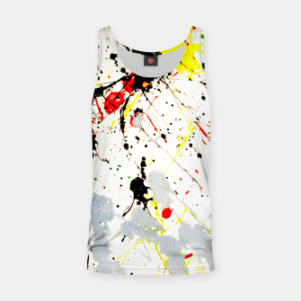 Thumbnail image of Paint Splatter Tank Top, Live Heroes