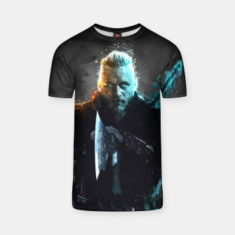 Thumbnail image of Ragnar Lothbrok - Legendary Viking Hero T-shirt, Live Heroes