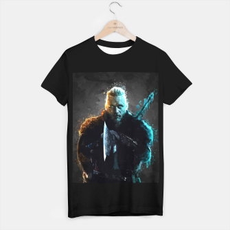 Thumbnail image of Ragnar Lothbrok - Legendary Viking Hero T-shirt regular, Live Heroes