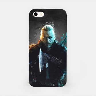 Thumbnail image of Ragnar Lothbrok - Legendary Viking Hero iPhone Case, Live Heroes