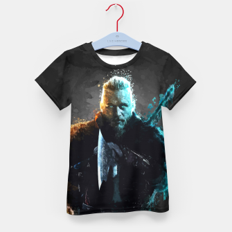 Thumbnail image of Ragnar Lothbrok - Legendary Viking Hero Kid's t-shirt, Live Heroes