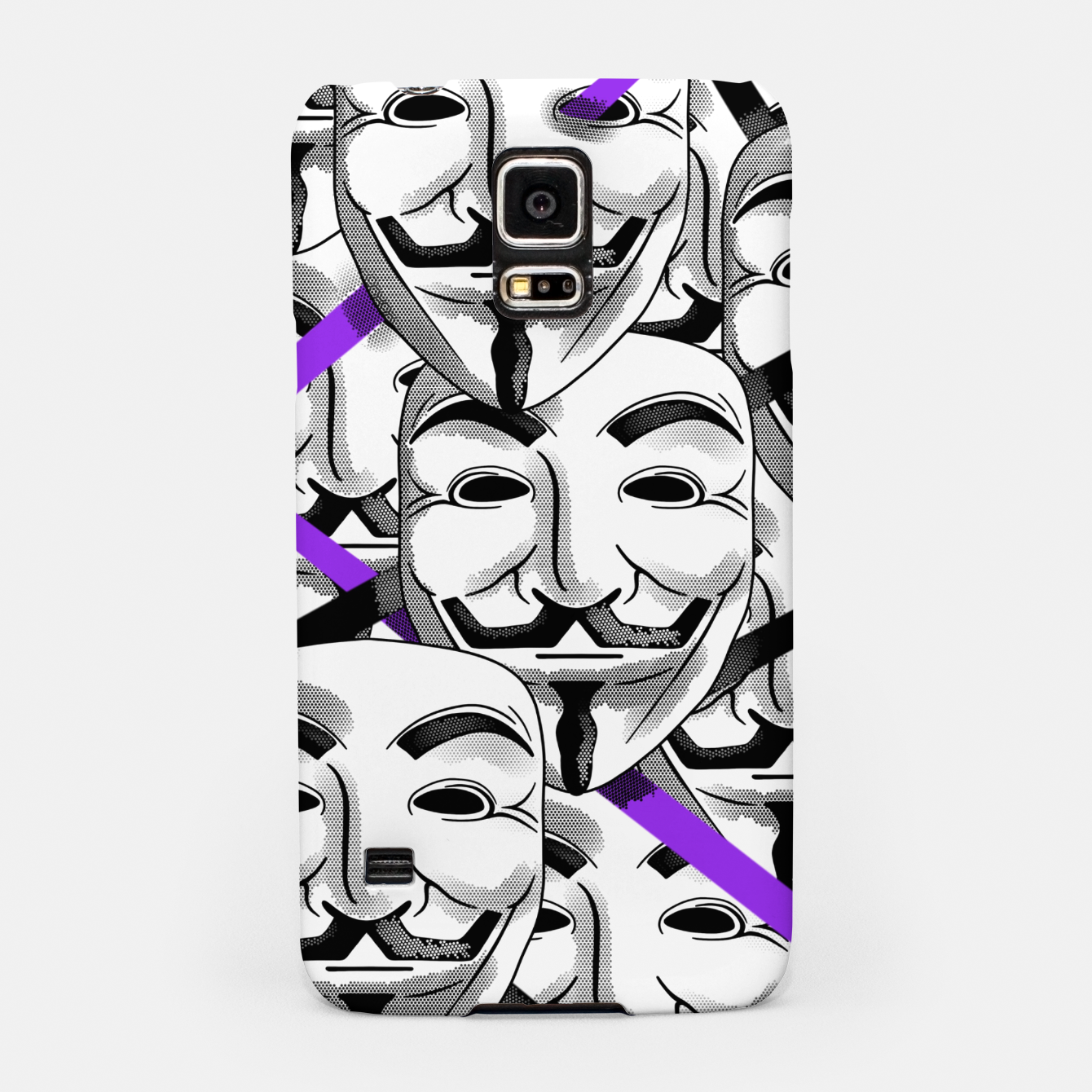Image of Anonymous - Samsung Case - Live Heroes