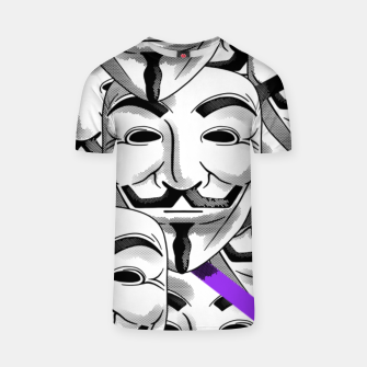 Thumbnail image of Anonymous - T-shirt, Live Heroes