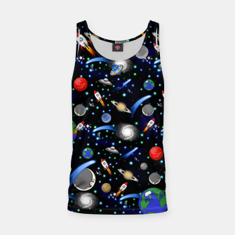 Thumbnail image of Galaxy Universe Tank Top, Live Heroes