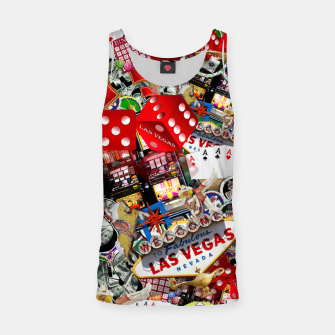 Thumbnail image of Gamblers Delight - Las Vegas Icons Tank Top, Live Heroes