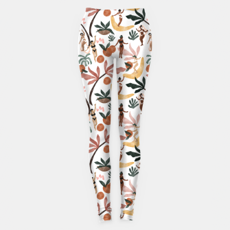 Miniatur Fruit party on the beach Leggings, Live Heroes