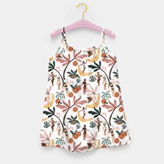 Miniatur Fruit party on the beach Vestido para niñas, Live Heroes