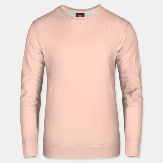 Textured Peach Lines Unisex sweater thumbnail image