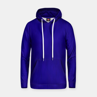 Textured Navy Blue Lines Hoodie thumbnail image