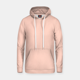 Textured Peach Lines Hoodie thumbnail image