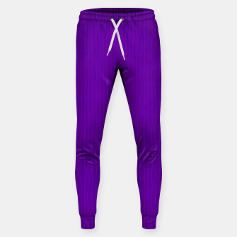 Thumbnail image of Textured Purple Lines Sweatpants, Live Heroes