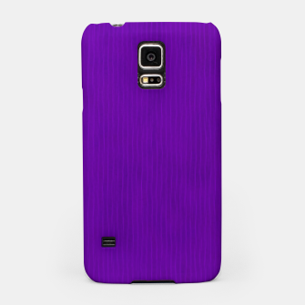 Thumbnail image of Textured Purple Lines Samsung Case, Live Heroes