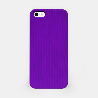 Thumbnail image of Textured Purple Lines iPhone Case, Live Heroes