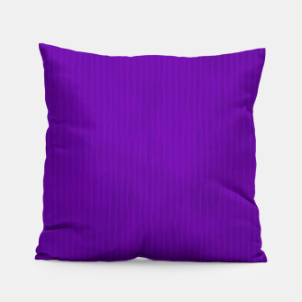 Thumbnail image of Textured Purple Lines Pillow, Live Heroes