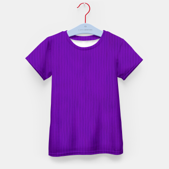 Thumbnail image of Textured Purple Lines Kid's t-shirt, Live Heroes