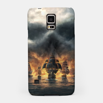 Thumbnail image of skull and bones Samsung Case, Live Heroes