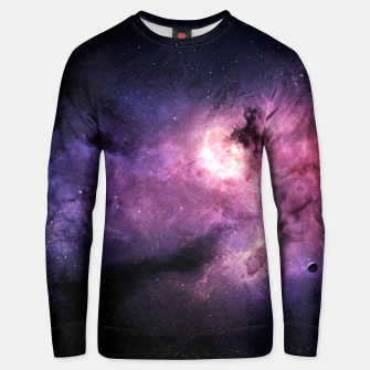 Thumbnail image of space 3 Unisex sweater, Live Heroes