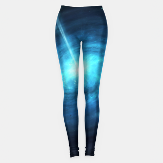 Thumbnail image of space stars Leggings, Live Heroes