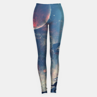 Thumbnail image of spaceships Leggings, Live Heroes