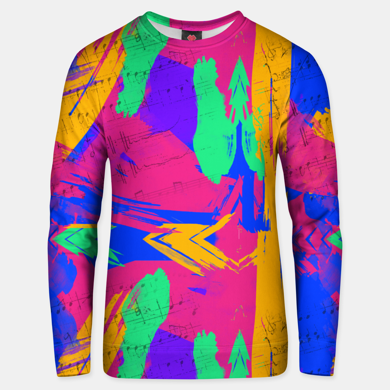 Image of Paint Brush Strokes Unisex sweater - Live Heroes