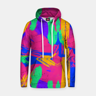 Thumbnail image of Paint Brush Strokes Hoodie, Live Heroes