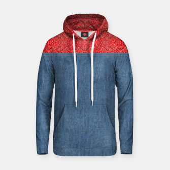 Denim Look and Bandanna Hoodie thumbnail image