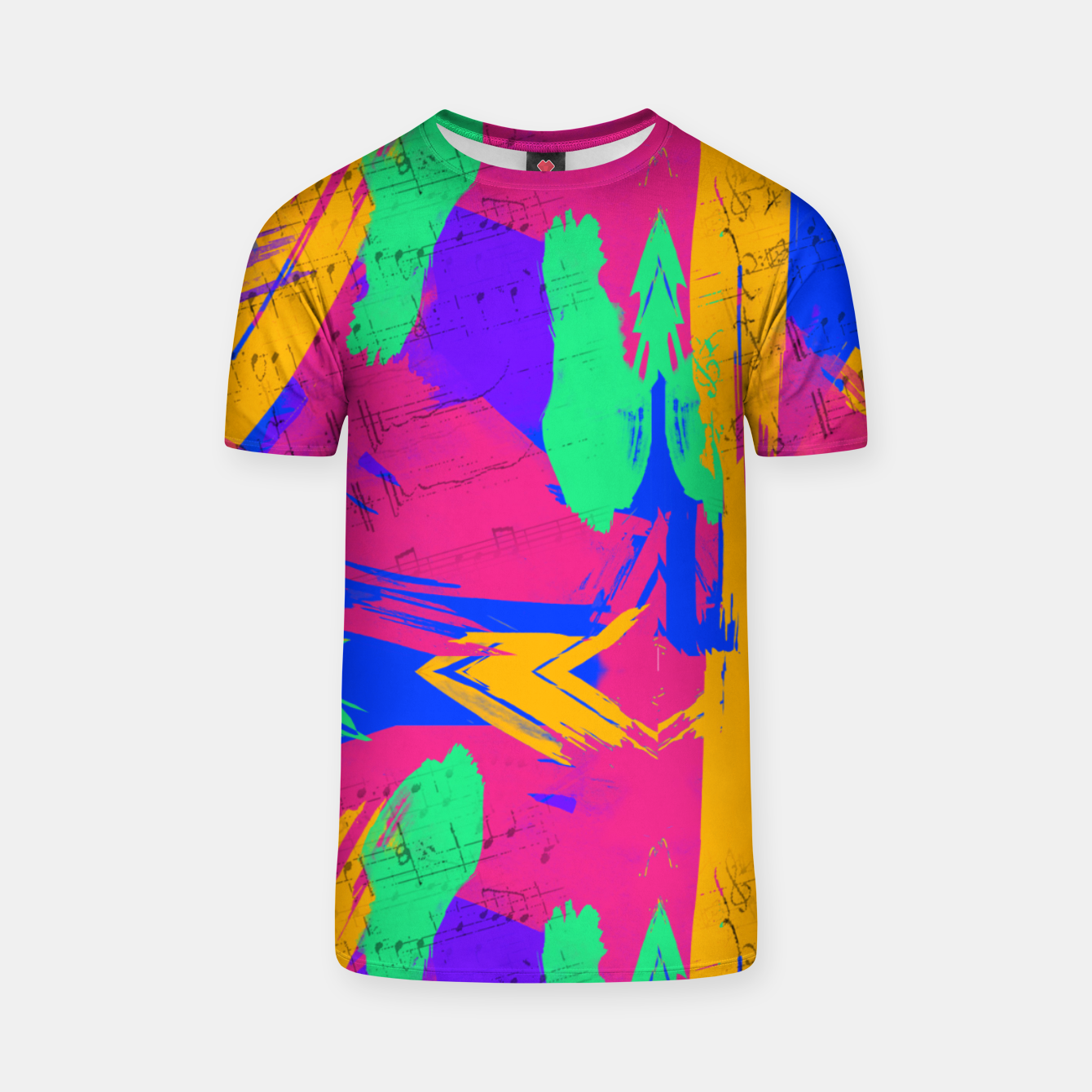 Image of Paint Brush Strokes T-shirt - Live Heroes