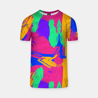 Paint Brush Strokes T-shirt thumbnail image
