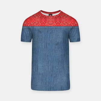 Denim Look and Bandanna T-shirt thumbnail image