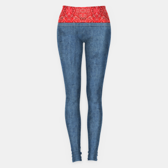 Denim Look and Bandanna Leggings thumbnail image