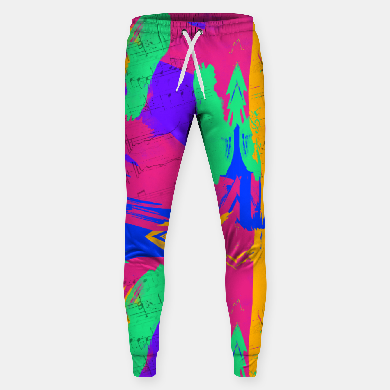 Image of Paint Brush Strokes Sweatpants - Live Heroes