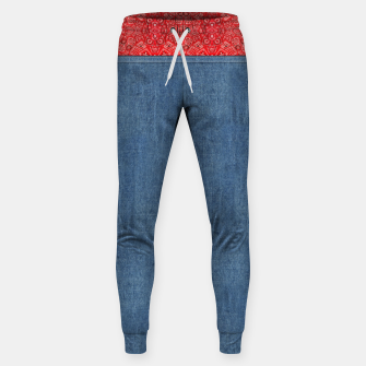 Denim Look and Bandanna Sweatpants thumbnail image
