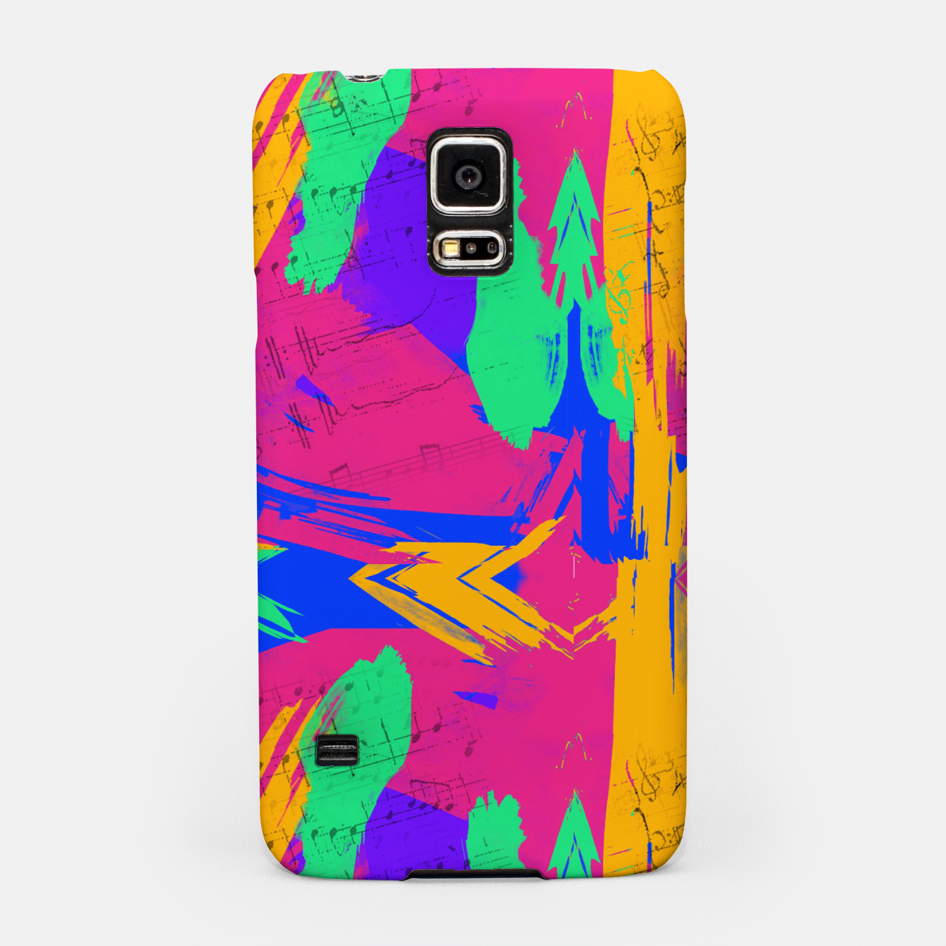 Image of Paint Brush Strokes Samsung Case - Live Heroes
