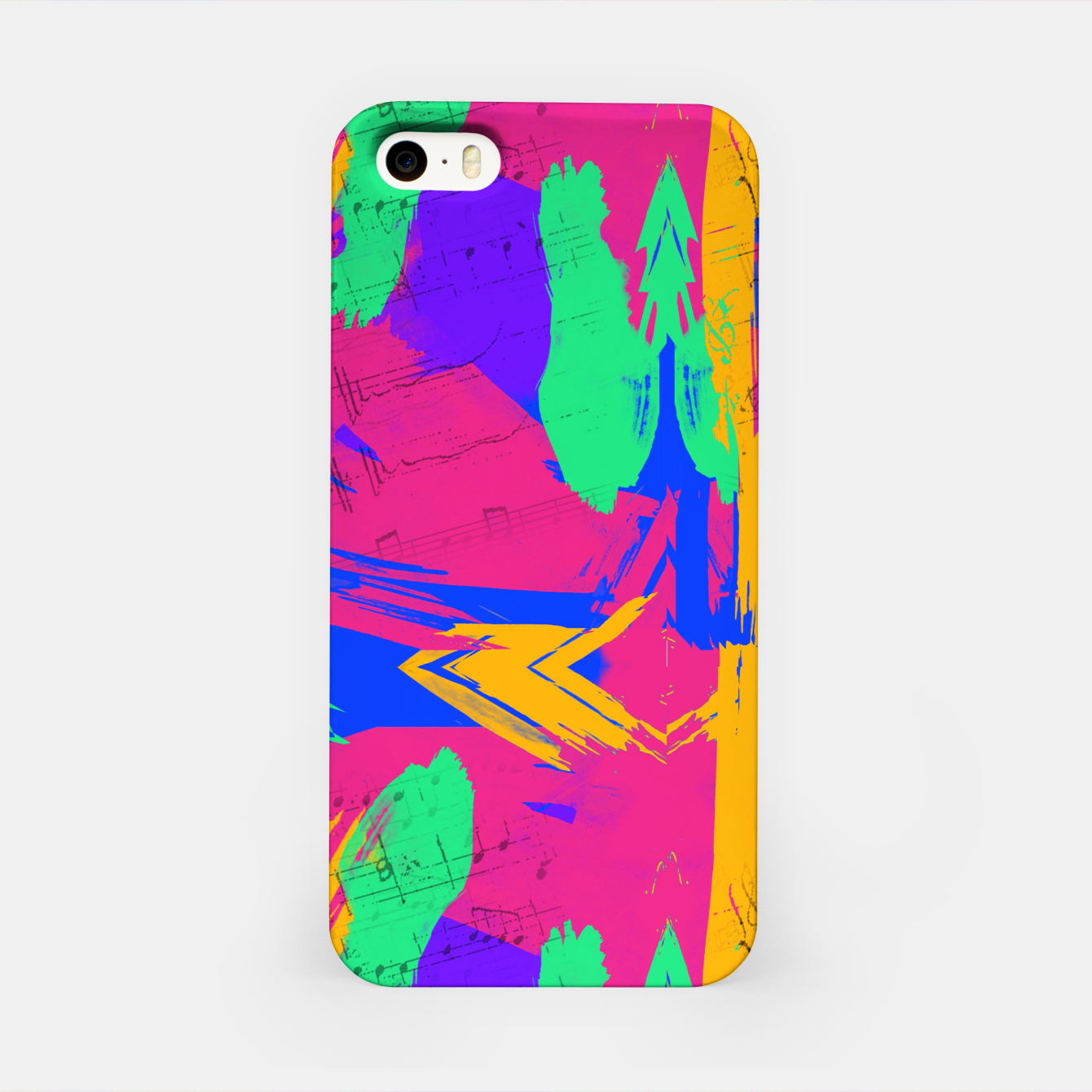 Image of Paint Brush Strokes iPhone Case - Live Heroes